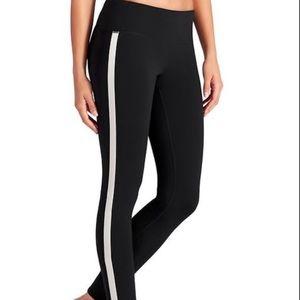 Athleta Black tux Chaturanga tights leggings small